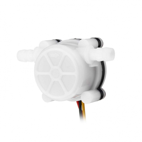 Water Flow Sensor (Sea) YFS401 Flowmeter 0.3-6Lmin3.5mm White