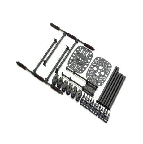Z850mm Full Carbon Fiber 850mm Hexa-Rotor Frame Combo Kit