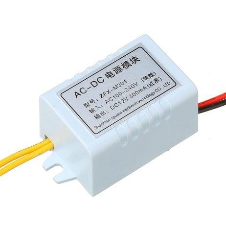 ZFX-M301 AC100-240VDC 12V 300MA Switching Power Module