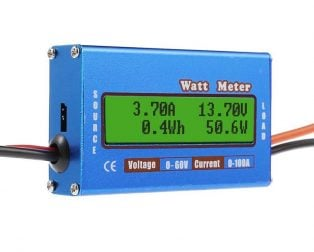 100A High Precision WATT Meter And Power Analyzer Module