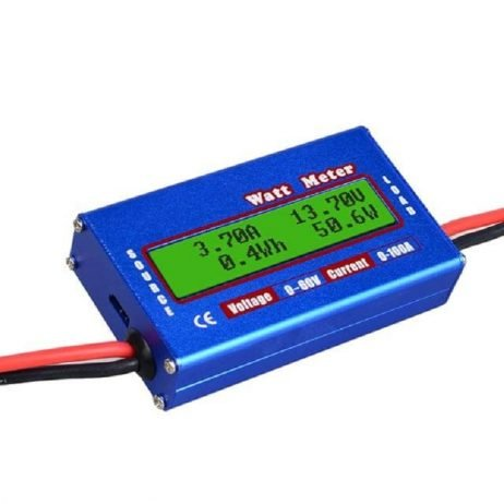 100A High Precision WATT Meter And Power Analyzer Module