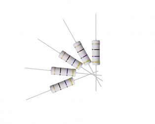 470 Ohm, 5 Watt, Wire-Wound Resistor (Pack of 5)