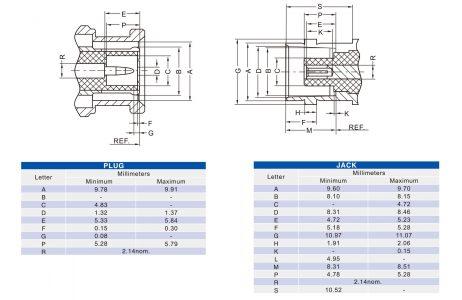 TNC RG59 F Male Compression Connector