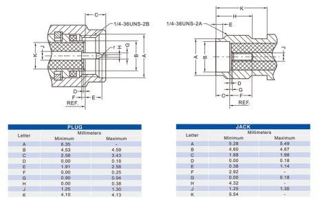 SMA Male Crimp Connector 180 Degree Plug Coaxial RF Connector