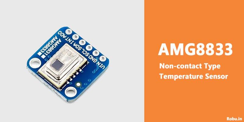 AMG8833 Non-contact Type Temperature Sensor - Robu.in