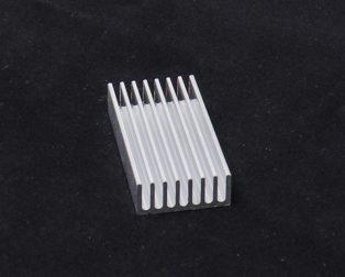 Aluminium Heat Sink 50 x 25 x 10 mm