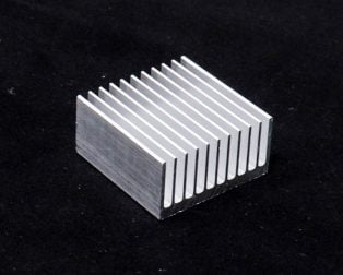 Aluminium Heat Sink for CPU IC(40 x 40 x 20 )