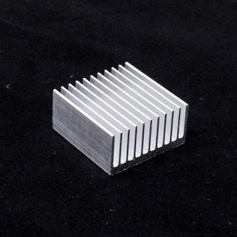 Aluminium Heat Sink for CPU IC(40 x 40 x 20 )