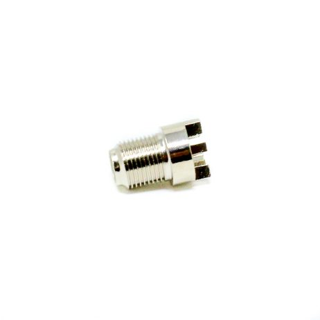 F Connector Jack Straight Bulkhead And Plate Edge Mount For PCB