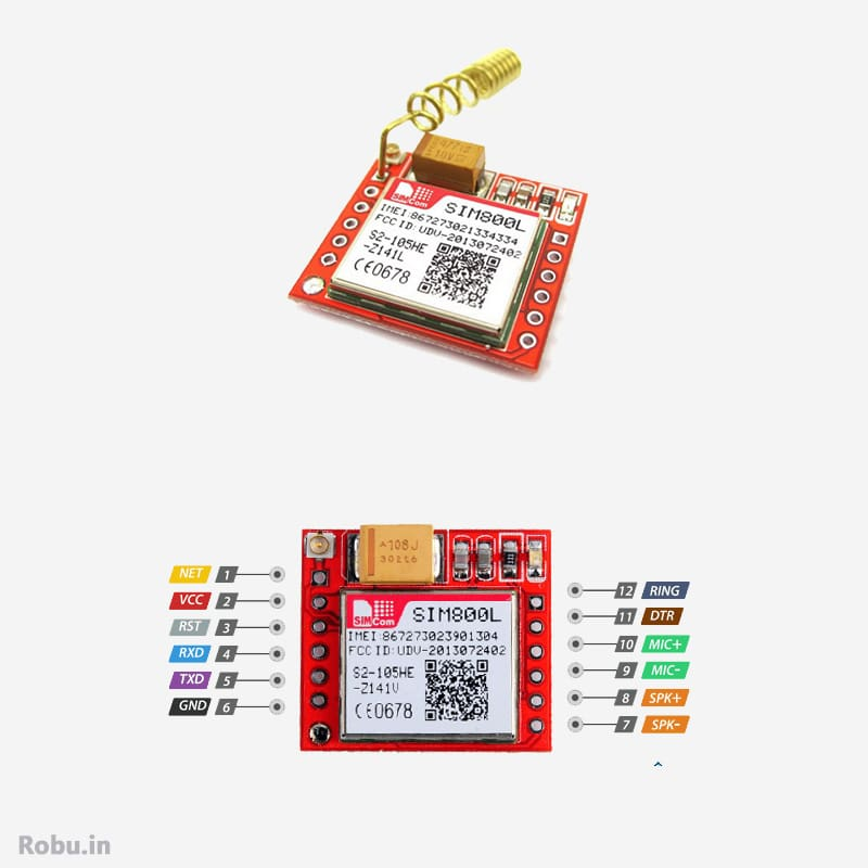 GSM Module - GSM Based Agricultural Motor Control using Arduino – Connections, Interfacing & Code