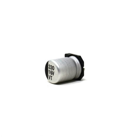 330uF 16V DC Polymer Aluminium SMD Capacitor