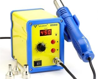 Soldron 858D Hot Air Soldering Station