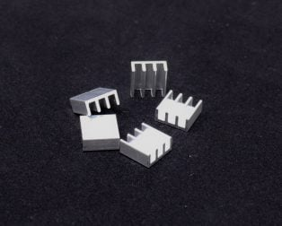 Universal Aluminium Heat Sink 11 x 11 x 5 mm