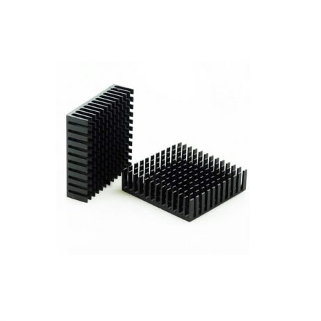 Universal Aluminium Heat sink for Chip IC (40 x 40 x 11 mm)