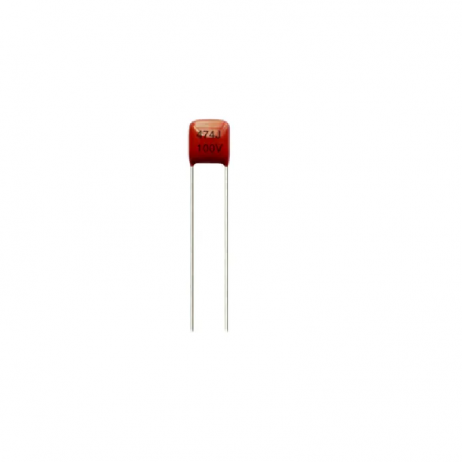 470nF 100v polyester film capacitor