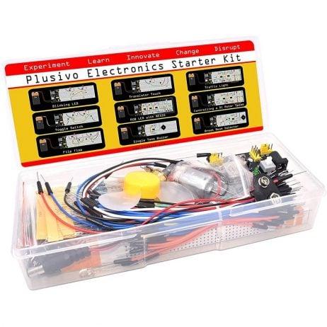 Plusivo Electronics Component Starter Kit