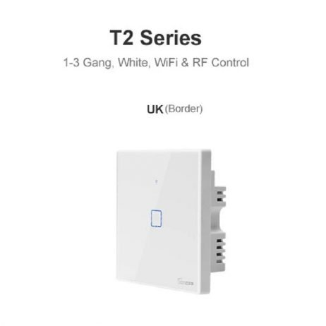 Sonoff T2 UK 1 Channels WiFi+RF+Touch Smart Switch