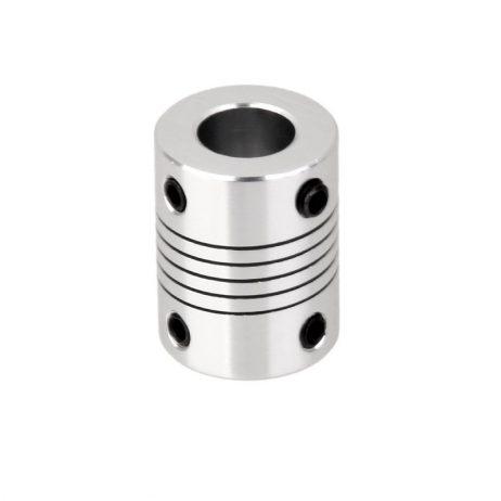 Flexible Coupling OD:20mm x L:24mm Bore: 5 x 10mm