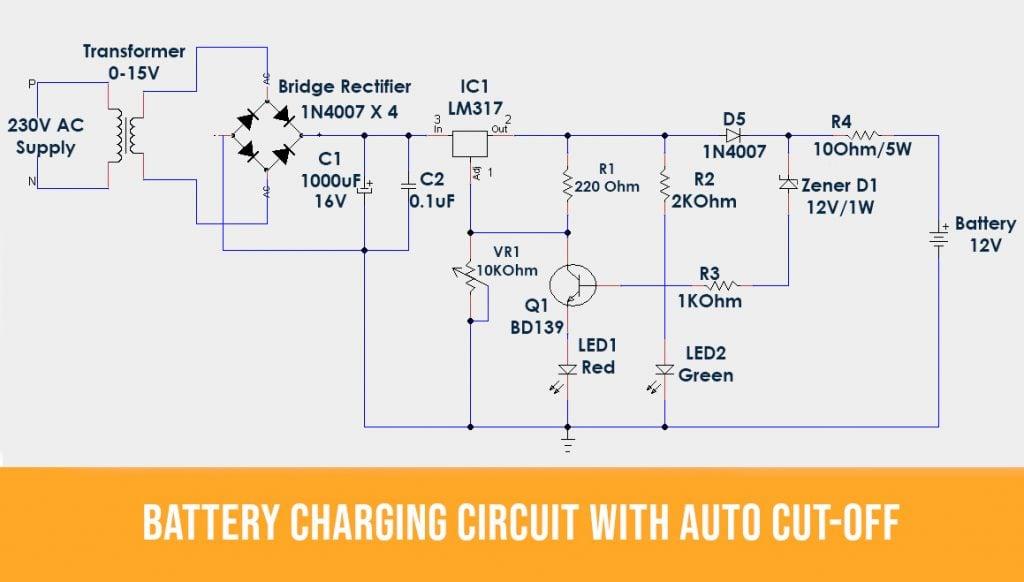 Auto cutoff battery-charging-circuit1