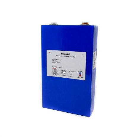 Orange 100Ah Lithium-ion Rechargeable Battery
