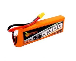 Orange 3300mAh 3S 35C80C Lithium polymer battery Pack