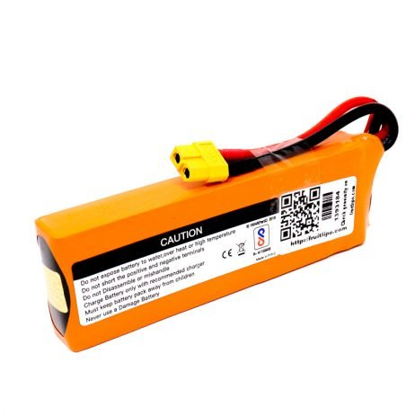 Orange 3300mAh 3S 35C80C Lithium polymer battery Pack