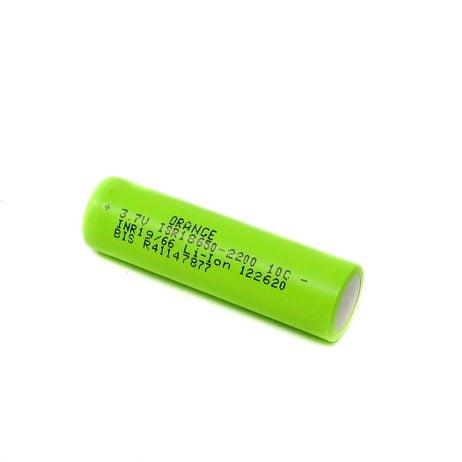 Orange ISR 18650 2200mAh (10c) Lithium-ion Battery