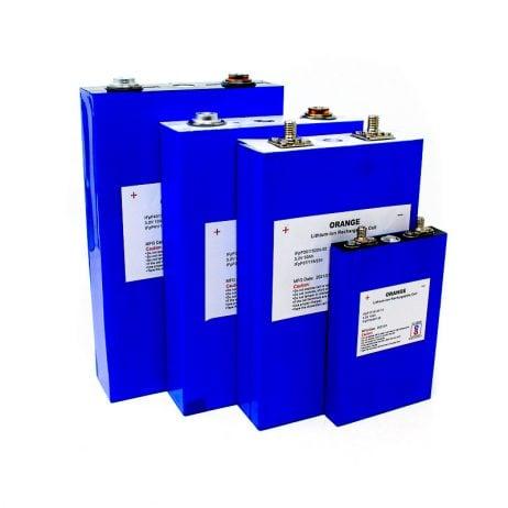 Orange Lithium Iron Phosphate Battery