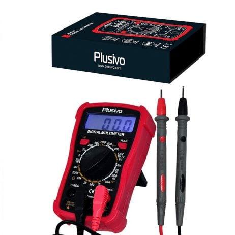 Plusivo Digital Multimeter with Backlight