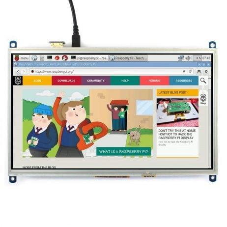 Waveshare 10.1 Inch Resistive HDMI LCD Display
