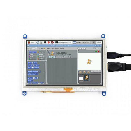Waveshare 5 Inch Resistive HDMI LCD Display (G)