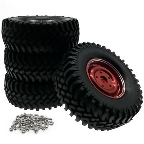 100mm Wheels with Alloy Rim