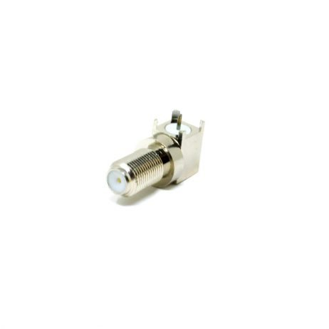 90 Degree F Type Connector Female
