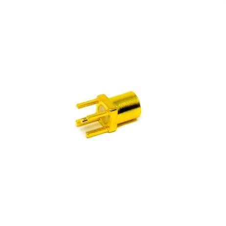 MMCX PCB Connector Female Straight Through Hole for Mount