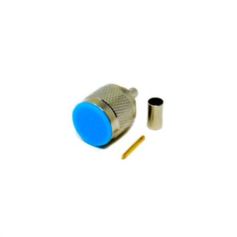 N Type Coaxial Male Connector 180 Degree Solder Type for Cable