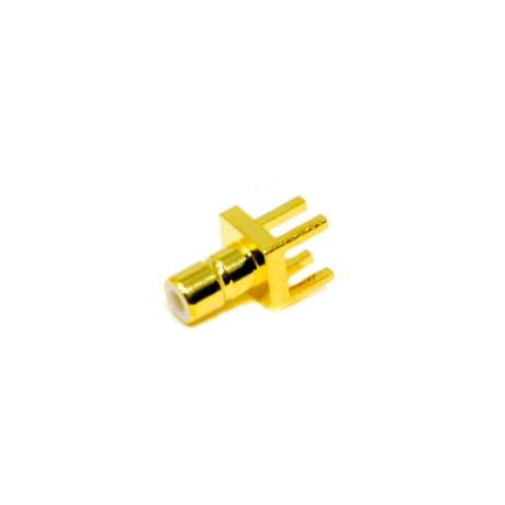 Plate Edge SMB Male Straight For PCB Connector