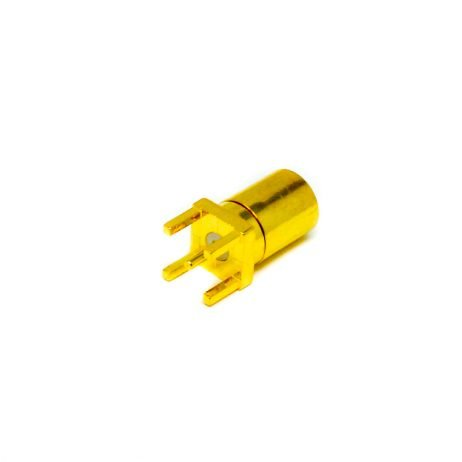 SMB Connector Coaxial Plug Straight Through Hole PCB Mount