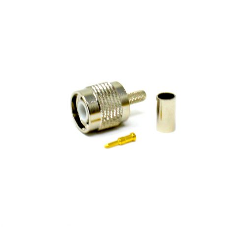 TNC Male Straight Crimped Connector for Cable