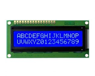 JHD 16×2 Character LCD Display With Blue Backlight