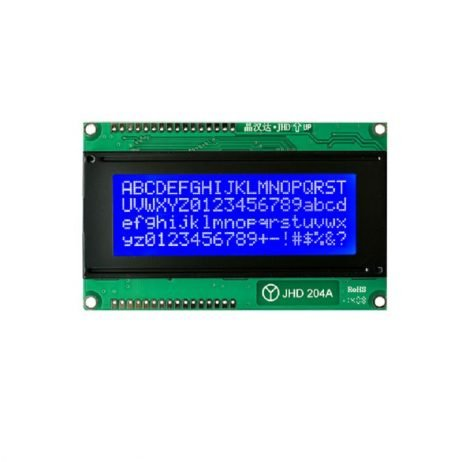 JHD 20x4 character LCD Display with Blue Backlight