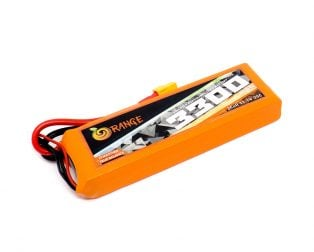 Orange 3300mAh 3S 25C60C Lithium Polymer Battery Pack