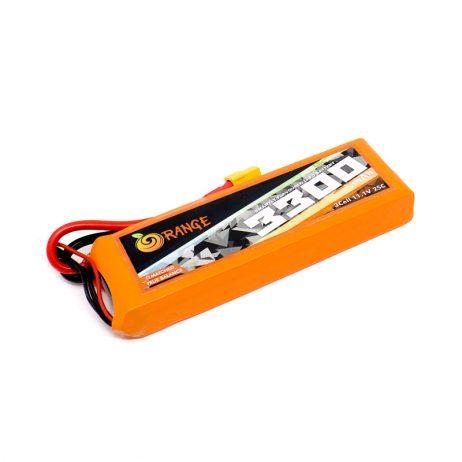 Orange 3300mAh 3S 25C60C Lithium Polymer Battery Pack