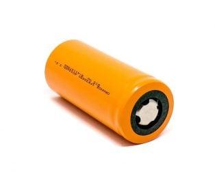 Orange IFR32650 6000mAh LiFePO4 Battery