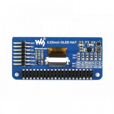 Waveshare 128×32, 2.23inch OLED display HAT for Raspberry Pi