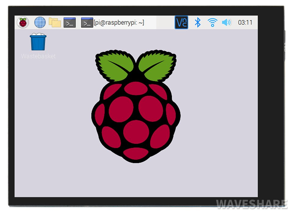 Waveshare 2.8 Inch 480×640 DPI, IPS Capacitive Touch Screen LCD for Raspberry Pi