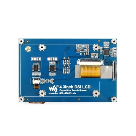 Waveshare 4.3 Inch Capacitive Touch Display for Raspberry Pi 800×480
