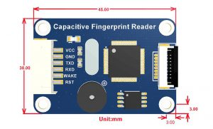 Waveshare Capacitive fingerprint reader