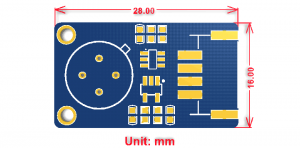 Waveshare Contact-less Infrared Temperature Sensor