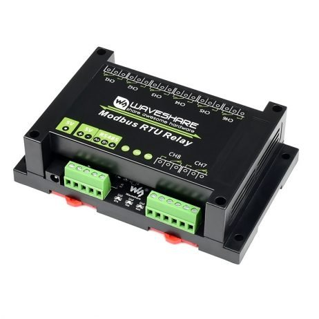 Waveshare Industrial Modbus RTU 8-ch Relay Module