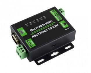 Waveshare Industrial RS232/RS485 to Ethernet Converter
